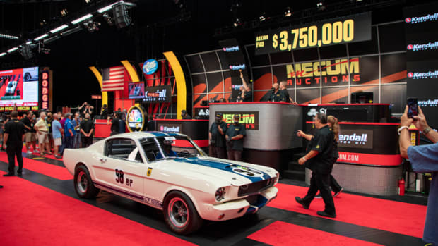 SC20_The John Atzbach Collection_1965 Shelby GT350R Sells For $3.85 Million_071720