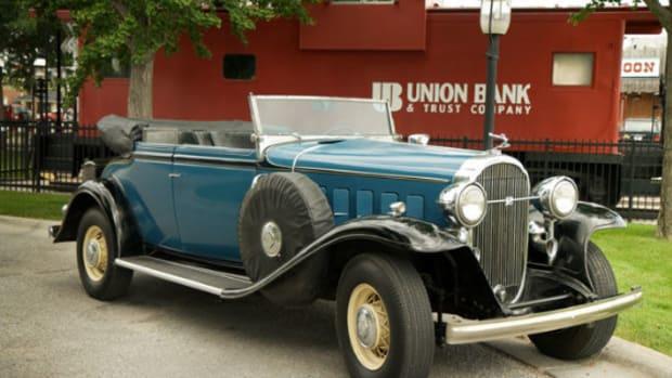 1932 Buick Special Victoria phaeton
