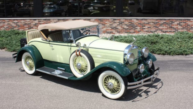 1929 Hudson Model R roadster