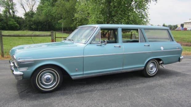 1962 Chevrolet Nova station wagon