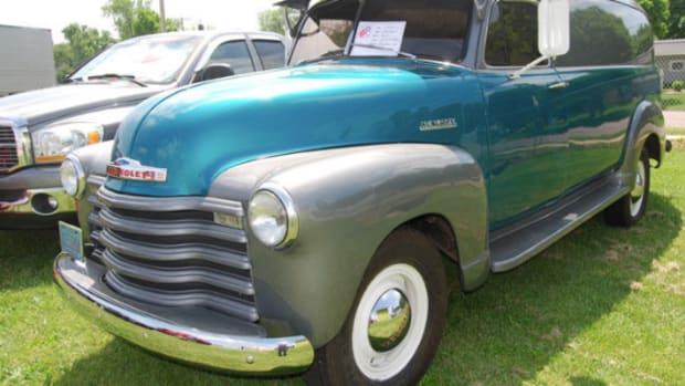 1952 Chevrolet 1-ton panel truck