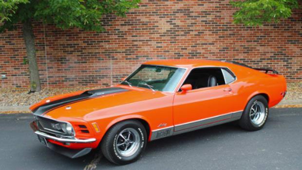 1970 Ford Mustang Mach 1 428 CJ