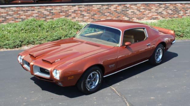 1970 1:2 Pontiac Formula Firebird