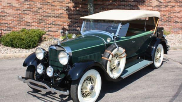 1928 Lincoln Dual-Cowl Phaeton