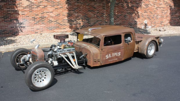 1935 International rat rod