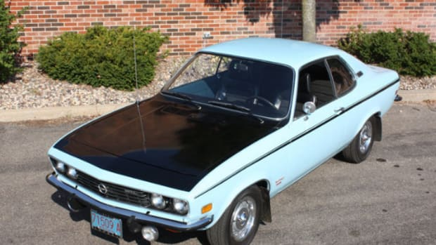 1973 Opel Rallye Manta