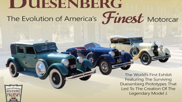 Duesenberg Exhibit_Poster Art 2020