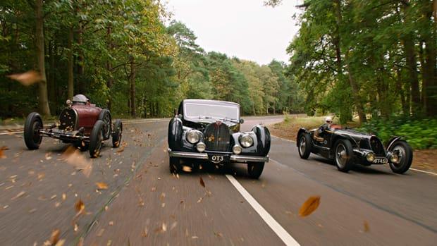 A trio of Bugattis set three world auction records at Gooding & Company's Passion of a Lifetime sale. Gooding & Company