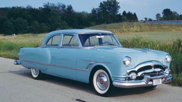 'Self-Parking' 1953 Packard Cavalier