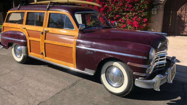 1949 Chrysler Royal Woodie Wagon