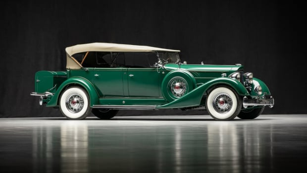 1934 Packard 1107 Twelve Phaeton