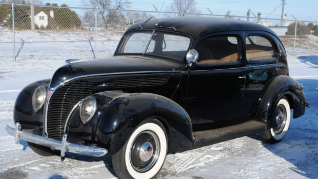 1938 Ford Deluxe Tudor sedan. Condition #3, sold for $15,250.