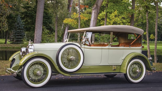 1923 Duesenberg Model A Sport Touring