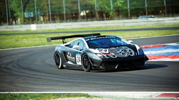 2011 Lamborghini Gallardo LP600 GT3 Racing Car, chassis 09825 (credit: © Blanpain)