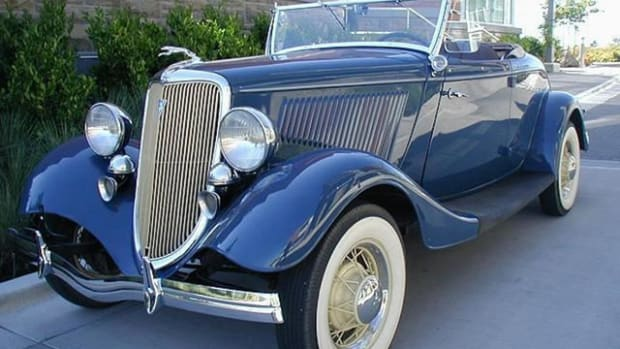 This 1934 Timmis/ Ford V8 Roadster is one of just 21 ever made. It is among the fine vehicles to be offered for sale at the 36th Annual New England Auto Auction on Saturday, Aug. 17.