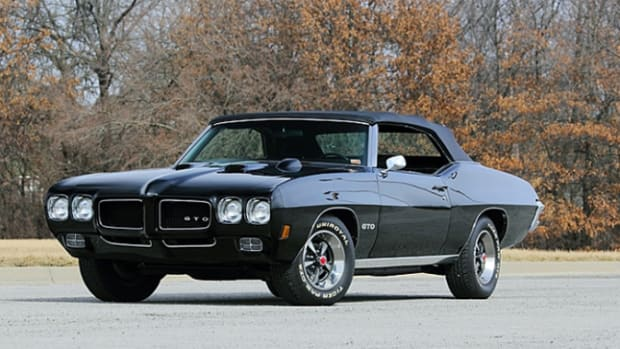 1970 Pontiac GTO Convertible (Lot S105) Photo by Carol Duckworth, Courtesy of Mecum Auctions