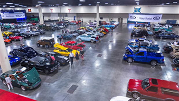 An overview of the RM Auctions Fort Lauderdale preview (Andrew Miterko © 2019 Courtesy of RM Auctions)