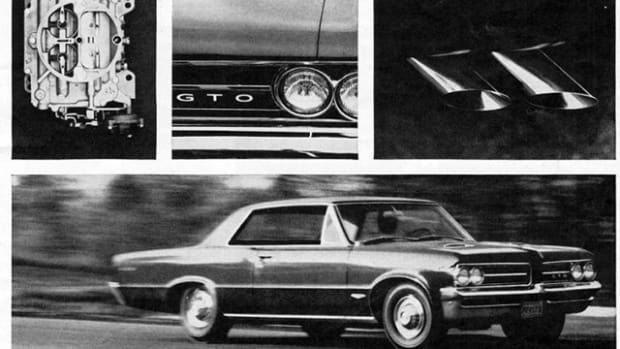 Pontiac shook up the U.S. new-car landscape 50 years ago when it offered a sporty Tempest LeMans with an optional 389-cid V-8 under the hood. The Grand Turismo Omologato (GTO) package lit the fuse on the muscle car wars.