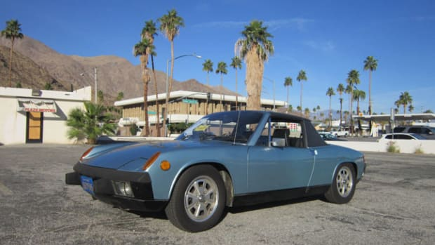 This 1974 Porsche 914 Targa spent 40 years with the same owner-family in California. It is among nearly 600 cars, trucks and motorcycles will be auctioned on the Feb. 23-25 at McCormick's Palm Springs Collector Car Auction.
