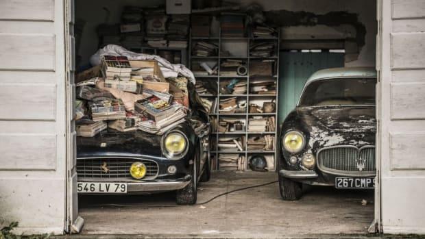 1961 Ferrari 250 GT SWB California Spider • Chassis 2935 • Ex Alain Delon • Baillon Collection Estimate : 9 500 000 – 12 000 000 € 1956 Maserati A6G Gran Sport Frua • Chassis 2140 • Baillon Collection Estimate : 800 0000 – 1 200 000 €