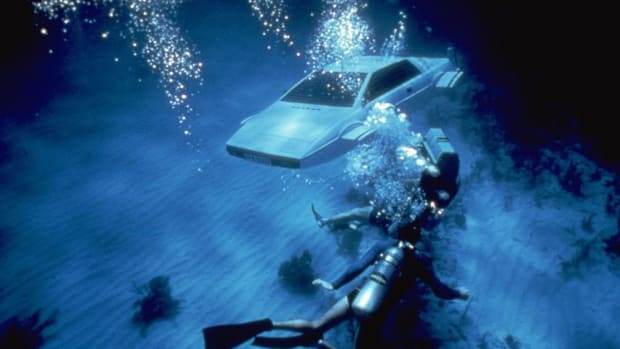 """Wet Nellie,"" the submersible Lotus Espirit from the James Bond film ""The Spy Who Loved Me"" sold for $863,500 today."