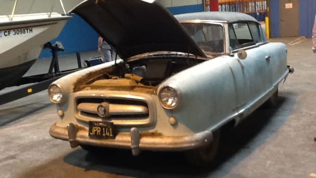 """This Rambler will be among the cars featured on """"Backroad Gold,"""" which features Corky Coker and his family."""