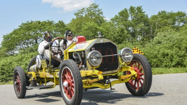"""Vintage cars in """"The Great Race"""" will finish their precision, timed, 2,300-mile journey in Tacoma, Washington on June 30. Car shows, food trucks, tours and other festivities will welcome visitors and the 120 race participants at the final finish line at America's Car Museum in Tacoma."""