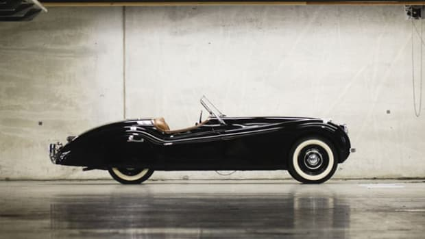 Clark Gable's Jaguar XK120