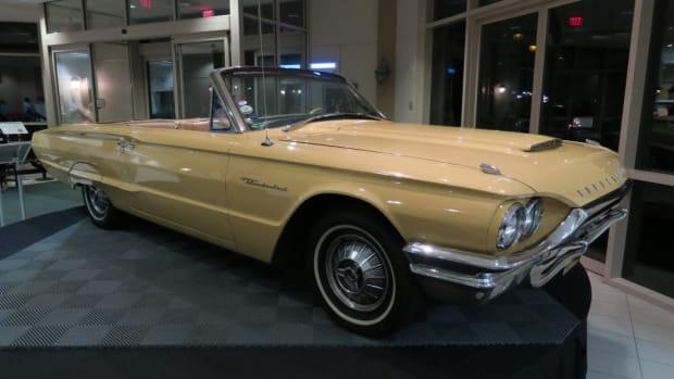 The 1964 Ford Thunderbird used in the Magic Skyway exhibit at the 1964-'65 World's Fair. (Mark Usciak photo)