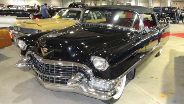 1955 Cadillac series 62 went for $103,000