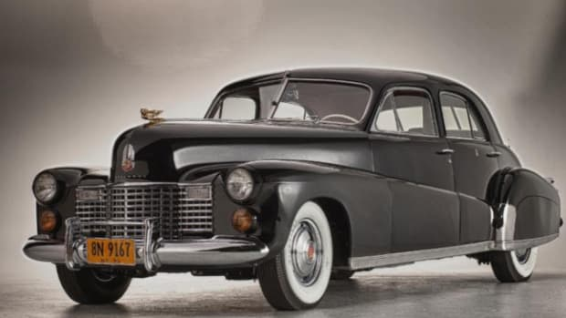 "The 1941 Cadillac Custom Limousine known as ""The Duchess."" Photo courtesy of Steven Plunkett."