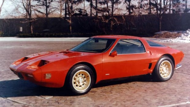 1973 Chevrolet Corvette XP-897 GT. Photo courtesy of GM.
