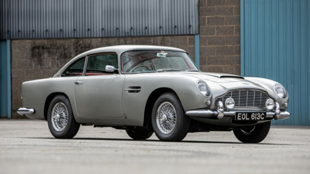 1965 Aston Martin DB5. Photo - Silverstone Auctions