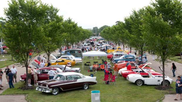 The Cars R Stars show at Historic Packard Proving Grounds