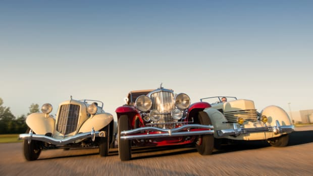 Auburn, Duesenberg and Cord to be offered at Auburn Fall. (Courtesy of Auctions America)