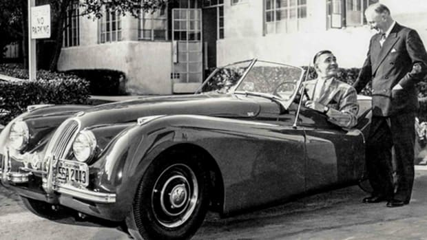 "Clark Gable told Jaguar Chief William Lyons he wanted the XK120 "". . . like a child wants candy.""Photo courtesy of Jaguar Land Rover Limited"