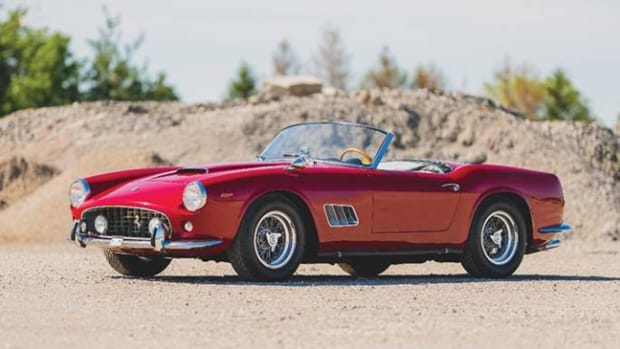 1962 Ferrari 250 SWB California Spider - Photo Darin Schnabel © 2019 Courtesy of RM Sotheby's