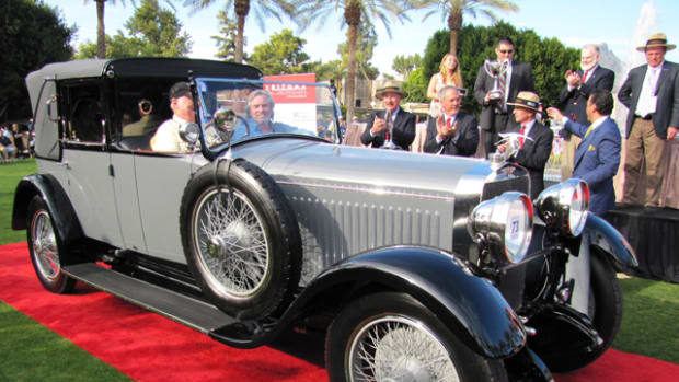 Best of Show won by 1925 Hispano Suiza H6B Cabriolet de Ville (Bob Golfen) Photo)