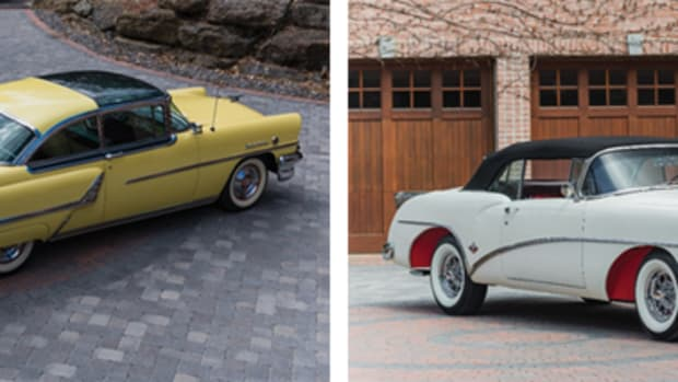 1955 Mercury Montclair Sun Valley (Courtesy of RM Auctions) & 1954 Buick Skylark (Courtesy of RM Auctions)