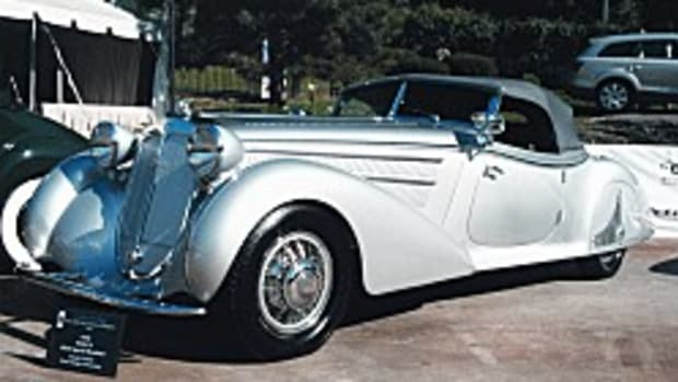 1938 Horch 853-A Special Roadster