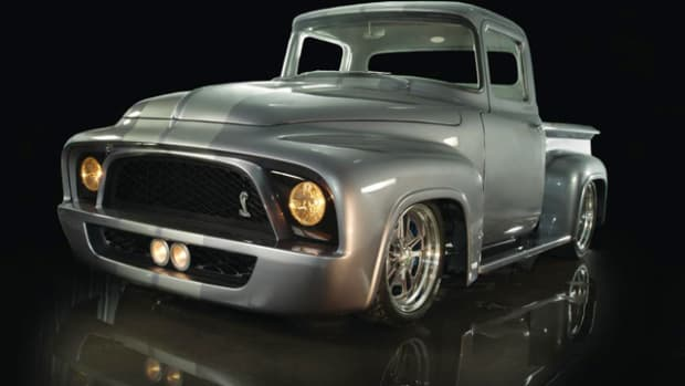 "1956 Ford F100 ""Snakebit."" Photo courtesy Wheels of Dreams."