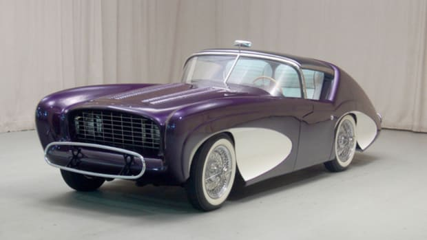 Mark Hyman of Hyman Ltd. Classic Cars recently donated the one-of-a-kind 1955 Flajole Forerunner to the AACA Museum.