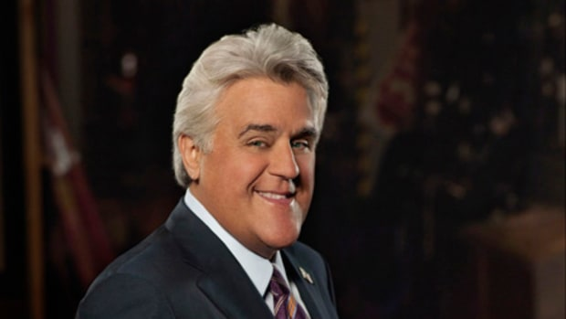 THE JAY LENO SHOW -- Pictured: Jay Leno, Host -- NBC Photo: Mitchell Haaseth