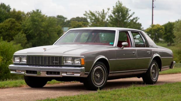 1979 Chevrolet Caprice with 211,245 miles. Photo. - Mecum