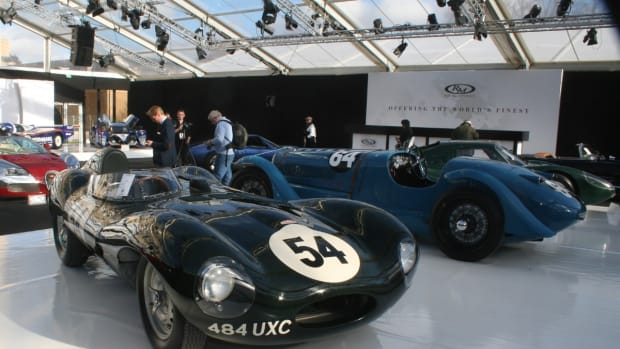 This largely original 1955 D-Type Jaguar sold for $5 million at RM Auctions' first Retromobile sale in Paris on Feb. 5.