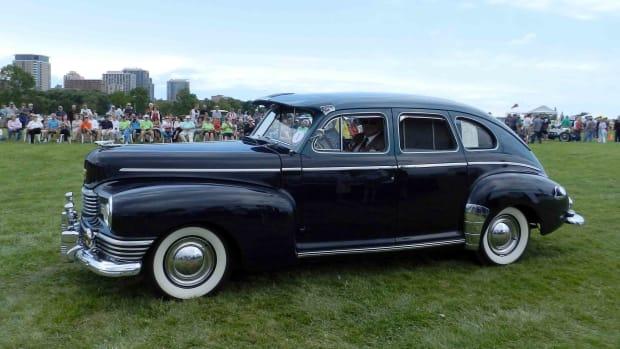 Auto Chic 1946 Nash Ambassador | 2017 Milwaukee Concours d'Elegance