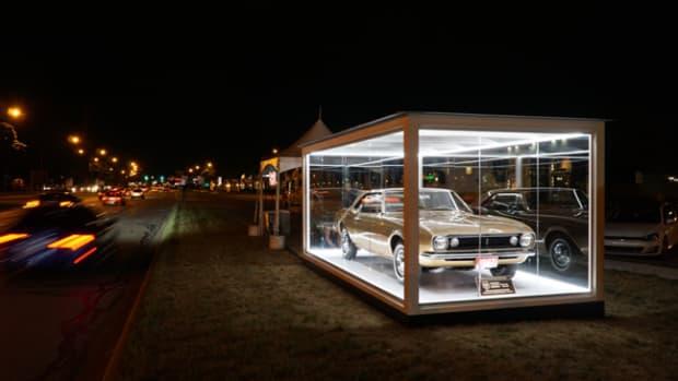 First Camaro - Photo courtesy of Historic Vehicle Association