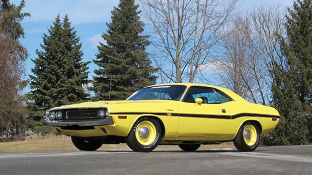 A 1970 Dodge Hemi Challenger RT Hardtop (courtesy of Auctions America)
