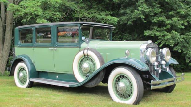 Lot No. 2270. 1929 Franklin Seven-Passenger Sedan.