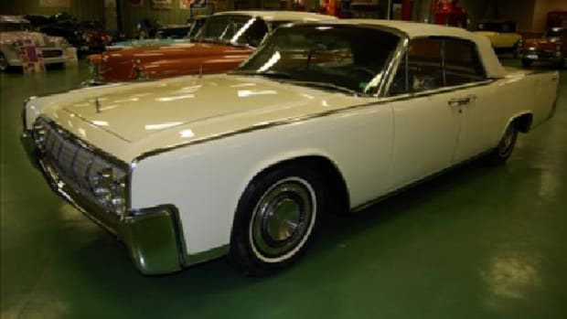 Former President Johnson's 1964 Lincoln Continental has never been offered for sale publicly, but will cross the block March 3.